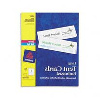 Avery® Tent Cards CARD,TENT,11X3.5,50/BX