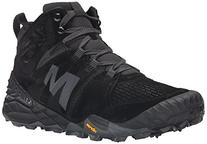 Merrell Men's All Out Terra Turf Mid Boot, Black, 8 M US