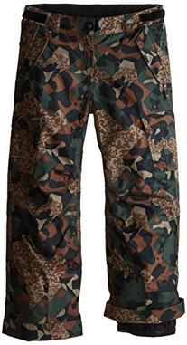 686 Boy's All Terrain Insulated Pant, Medium, Army Cubist