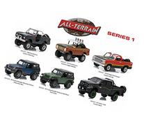 All Terrain Series 1, 6pc Diecast Car Set 1/64 by Greenlight