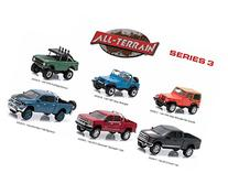 All Terrain Series 3, 6pc Diecast Car Set 1/64 by Greenlight