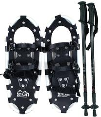 "Alps All Terrian Snowshoes 22"" + pair antishock adjustable"