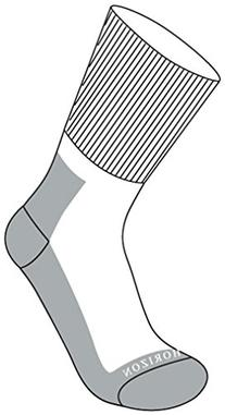 Horizon Men's Test Cricket Socks Relaxed Fit Gentle Grip