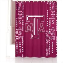Texas A&M Shower Curtain