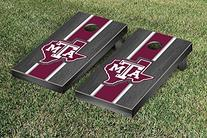 Texas A&M University Aggies Onyx Stained Cornhole Game Set