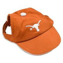 Sporty K9 Collegiate Texas Longhorns Dog Cap, Small