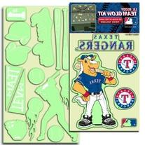 Texas Rangers Lil' Buddy Glow In The Dark Decal Kit