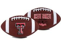 """Texas Tech Red Raiders """"Game Time"""" Full Size Football"""