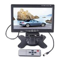 "7"" TFT LCD Color 2 Video Input Car RearView Headrest Monitor"