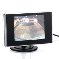 3.5 Inch Small TFT LCD Adjustable Monitor For Security CCTV