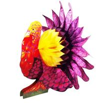 Thanksgiving Tissue Turkey Centerpiece table Party Accessory
