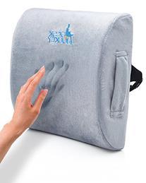 Desk Jockey Therapeutic Grade Lumbar Support Cushion for