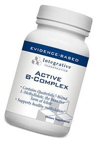 Integrative Therapeutics - Active B-Complex with Quatrefolic