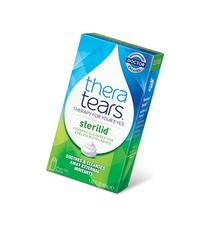 TheraTears Sterilid Eyelid Cleanser, Lid Scrub for Eyes and