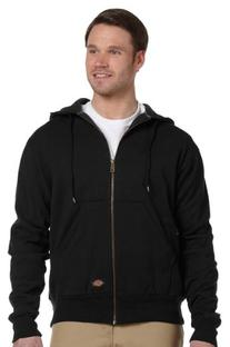Dickies Men's Thermal Lined Fleece Jacket, Dark Navy, XX-