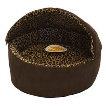 K&H Manufacturing Thermo-Kitty Bed Dlx Hooded Large Mocha