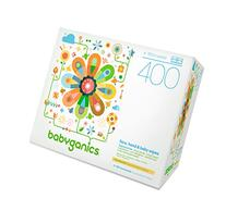 Babyganics Thick n' Kleen Face Hand and Baby Wipes Fragrance Free -- 400 Wipes