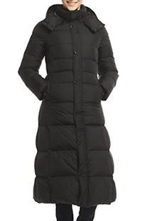 XIAOLV88 Women's Thick Warm Slim Long Duck Down Coat