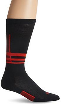 Thorlo Women's Thin Performance Ski Sock-X Small-Fire Red,