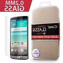 iCarez  Screen Protector for LG G3 Easy Install with