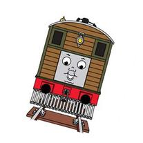 Thomas and Friends - Toby Tram Engine with Moving Eyes