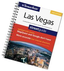 The Thomas Guide Las Vegas Street Guide: Including Pahrump,