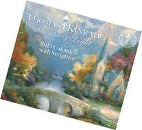 Thomas Kinkade Painter of Light with Scripture 2013 Day-to-