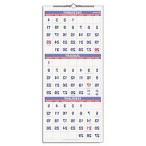 AT-A-GLANCE PM1128 Vertical-Format Three-Month Reference