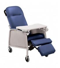 Lumex 574G Three Position Recliner Color: Royal Blue