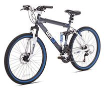 Kent Thruster KZ2600 Dual-Suspension Mountain Bike, 26-Inch