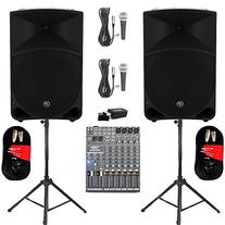 "Mackie THUMP15 Powered 15"" Speaker Pair 2000W Bi-Amped with"