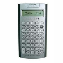 Texas Instruments BA II Plus Professional Advanced Financial