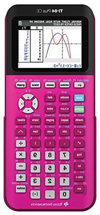 Texas Instruments TI-84 Plus CE Pink Graphing Calculator