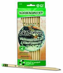 Dixon Ticonderoga EnviroStiks Natural Wood #2 Pencils, Box