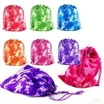 Adorox Tie-dyed Camouflage Drawstring Tote Bags Party Favors
