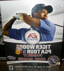 Tiger Woods PGA Tour Family DVD game