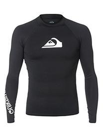 Quiksilver Men's All Time Long Sleeve Surf Tee Rashguard,