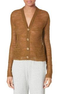 Women's Simon Miller Tioga Cardigan, Size 2 - Metallic