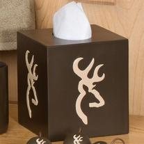 Browning Buckmark Tissue Box Cover