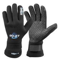 Tilos 3mm Titanium Forte Velcro Gloves