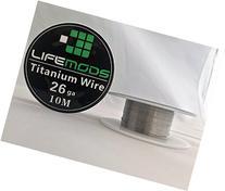 LifeMods Titanium  Wire Spool AWG 26 Gauge 32' feet/roll