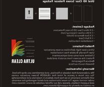 i-Blason Tmax Tablet 9 HD Screen Protector - 2 Pack Premium
