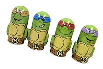 SET of 4 TMNT Teenage Mutant Ninja Turtles Molded Saving