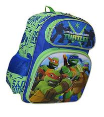 "TMNT Ninja Turtles Tough Guy Deluxe 3D Embossed 14"" School"
