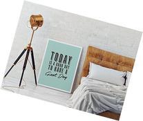Today Is a Good Day, Typography Poster, Wall Decor, Wall