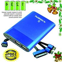 Rapid Charge 3x Power Bank | Backup Battery for Phones and