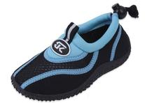 New Sunville Brand Toddler's Blue & Black Athletic Water