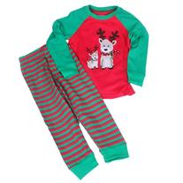 Toddler Kid Girls Christmas pajama T shirt+long pants