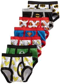 Justice League Toddler Boys' 7-Pack Cotton Briefs