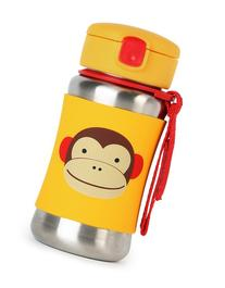 Toddler Skip Hop 'Zoo - Monkey' Stainless Steel Straw Bottle
